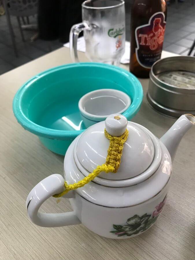 中国茶のポット